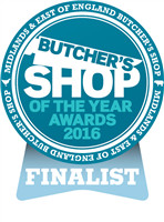 Butcher Shop of the Year 2016 finalist award